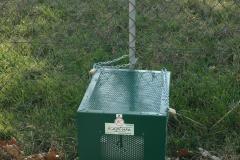 Ekobox verde con segnaletica